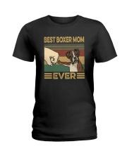 BEST BOXER MOM EVER s Ladies T-Shirt thumbnail