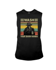 PLAGUE DOCTOR WASH YOUR DAMN HANDS Sleeveless Tee tile