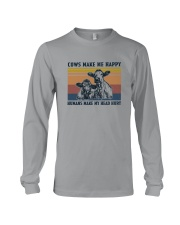 COWS MAKE ME HAPPY Long Sleeve Tee thumbnail