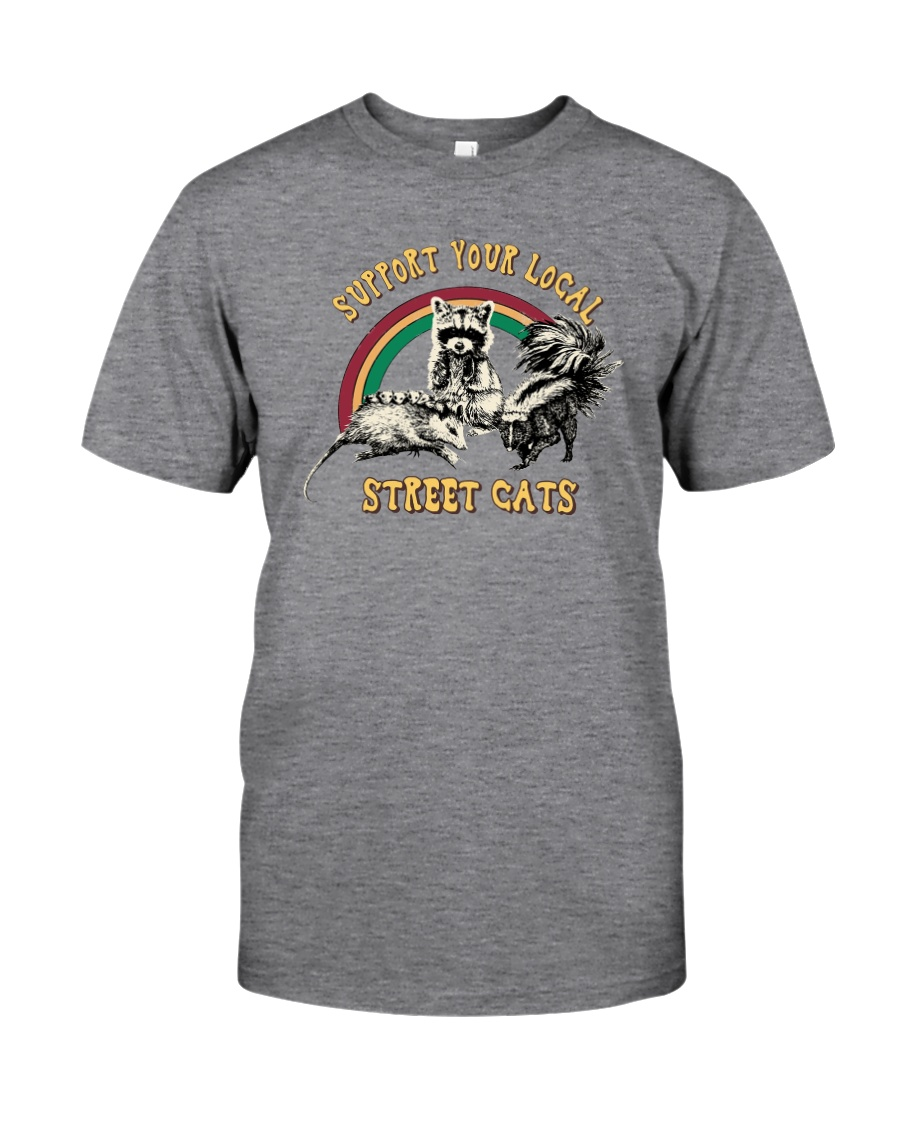 SUPPORT YOUR LOCAL STREET CATS Classic T-Shirt