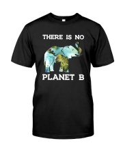 THERE IS NO PLANET B ELEPHANT Classic T-Shirt front