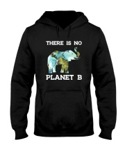 THERE IS NO PLANET B ELEPHANT Hooded Sweatshirt tile