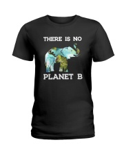 THERE IS NO PLANET B ELEPHANT Ladies T-Shirt tile
