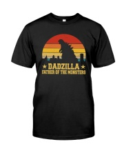 DADZILLA FATHER OF THE MONSTERS Classic T-Shirt front