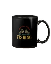 I WAS THINKING ABOUT FISHING Mug thumbnail