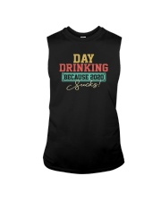 DAY DRINKING BECAUSE 2020 SUCKS Sleeveless Tee thumbnail