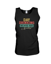 DAY DRINKING BECAUSE 2020 SUCKS Unisex Tank thumbnail