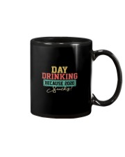 DAY DRINKING BECAUSE 2020 SUCKS Mug thumbnail