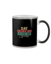DAY DRINKING BECAUSE 2020 SUCKS Color Changing Mug thumbnail