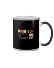 BOURBON NOUN Color Changing Mug thumbnail