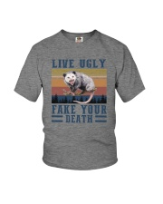 LIVE UGLY FAKE YOUR DEATH Youth T-Shirt thumbnail