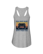 REAL DADS GAME WITH THEIR KIDS Ladies Flowy Tank thumbnail