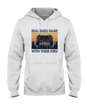 REAL DADS GAME WITH THEIR KIDS Hooded Sweatshirt thumbnail