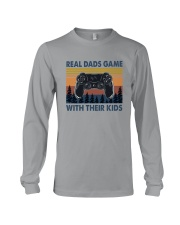 REAL DADS GAME WITH THEIR KIDS Long Sleeve Tee thumbnail