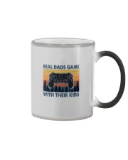 REAL DADS GAME WITH THEIR KIDS Color Changing Mug thumbnail