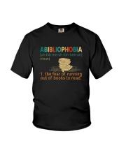 ABIBLIOPHOBIA NOUN Youth T-Shirt thumbnail