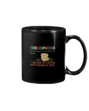ABIBLIOPHOBIA NOUN Mug thumbnail