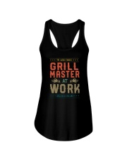 GRILL MASTER AT WORK Ladies Flowy Tank thumbnail