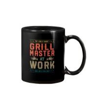 GRILL MASTER AT WORK Mug thumbnail