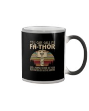 YOU CALL ME FATHOR LIKE A NORMAL FATHER a Color Changing Mug thumbnail