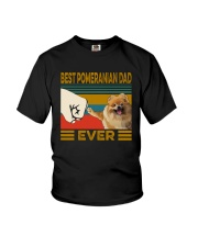 BEST  Pomeranian DAD EVER Youth T-Shirt thumbnail