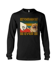 BEST  Pomeranian DAD EVER Long Sleeve Tee thumbnail