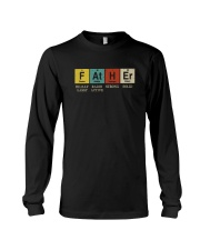 FATHER PERIODIC TABLE Long Sleeve Tee thumbnail