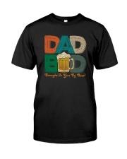 DAD BOD BEER VINTAGE Classic T-Shirt front