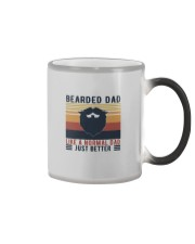 BEARDED DAD LIKE A NORMAL DAD JUST BETTER Color Changing Mug thumbnail