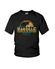 DADZILLA FATHER OF MONSTER1 Youth T-Shirt thumbnail
