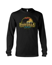 DADZILLA FATHER OF MONSTER1 Long Sleeve Tee thumbnail