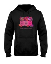 FAITH LOVE HOPE BREAST CANCER AWARENESS Hooded Sweatshirt thumbnail