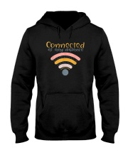 CONNECTED AT ANY DISTANCE Hooded Sweatshirt thumbnail