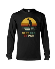 BEST DAD BY PAR GOLF Long Sleeve Tee thumbnail