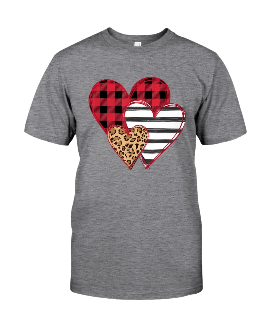 SPLICING HEARTS VALENTINE'S DAY Classic T-Shirt