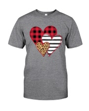 SPLICING HEARTS VALENTINE'S DAY Classic T-Shirt front