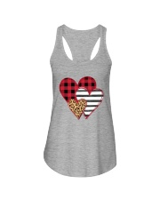 SPLICING HEARTS VALENTINE'S DAY Ladies Flowy Tank thumbnail