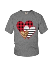 SPLICING HEARTS VALENTINE'S DAY Youth T-Shirt thumbnail