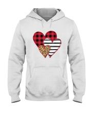 SPLICING HEARTS VALENTINE'S DAY Hooded Sweatshirt thumbnail