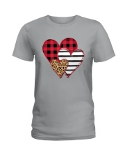 SPLICING HEARTS VALENTINE'S DAY Ladies T-Shirt thumbnail