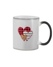 SPLICING HEARTS VALENTINE'S DAY Color Changing Mug thumbnail
