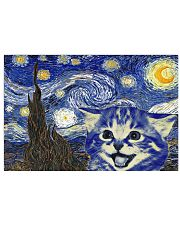 STARRY NIGHT KITTY 24x16 Poster front