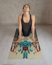 NATIVE AMERICAN Yoga Mat 24x70 (vertical) aos-yoga-mat-lifestyle-17