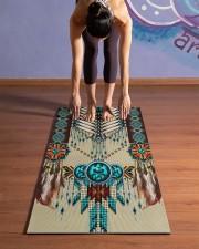 NATIVE AMERICAN Yoga Mat 24x70 (vertical) aos-yoga-mat-lifestyle-25