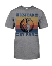 FUNNY DAD GOLF BEST DAD BY PAR Classic T-Shirt front