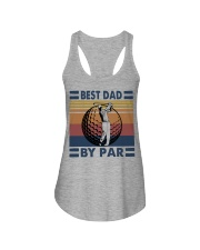 FUNNY DAD GOLF BEST DAD BY PAR Ladies Flowy Tank thumbnail