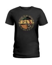 NATURE IS MY RELIGION Ladies T-Shirt thumbnail