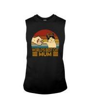 WORLD'S BEST CAT MUM Sleeveless Tee tile
