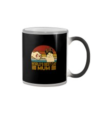 WORLD'S BEST CAT MUM Color Changing Mug tile