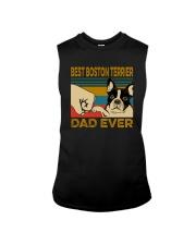 BEST BOSTON TERRIER DAD EVER Sleeveless Tee thumbnail